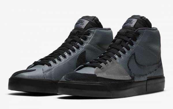 DA2189-001 Nike SB Blazer Mid Edge Releasing in Black and Grey Soon